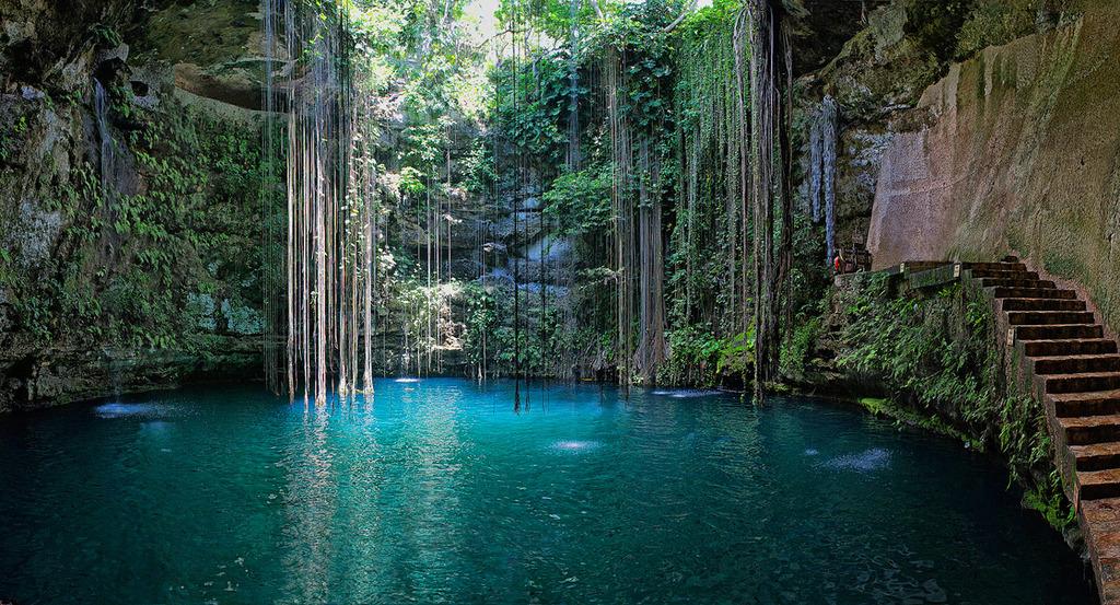 5. Ik Kil Cave Pool