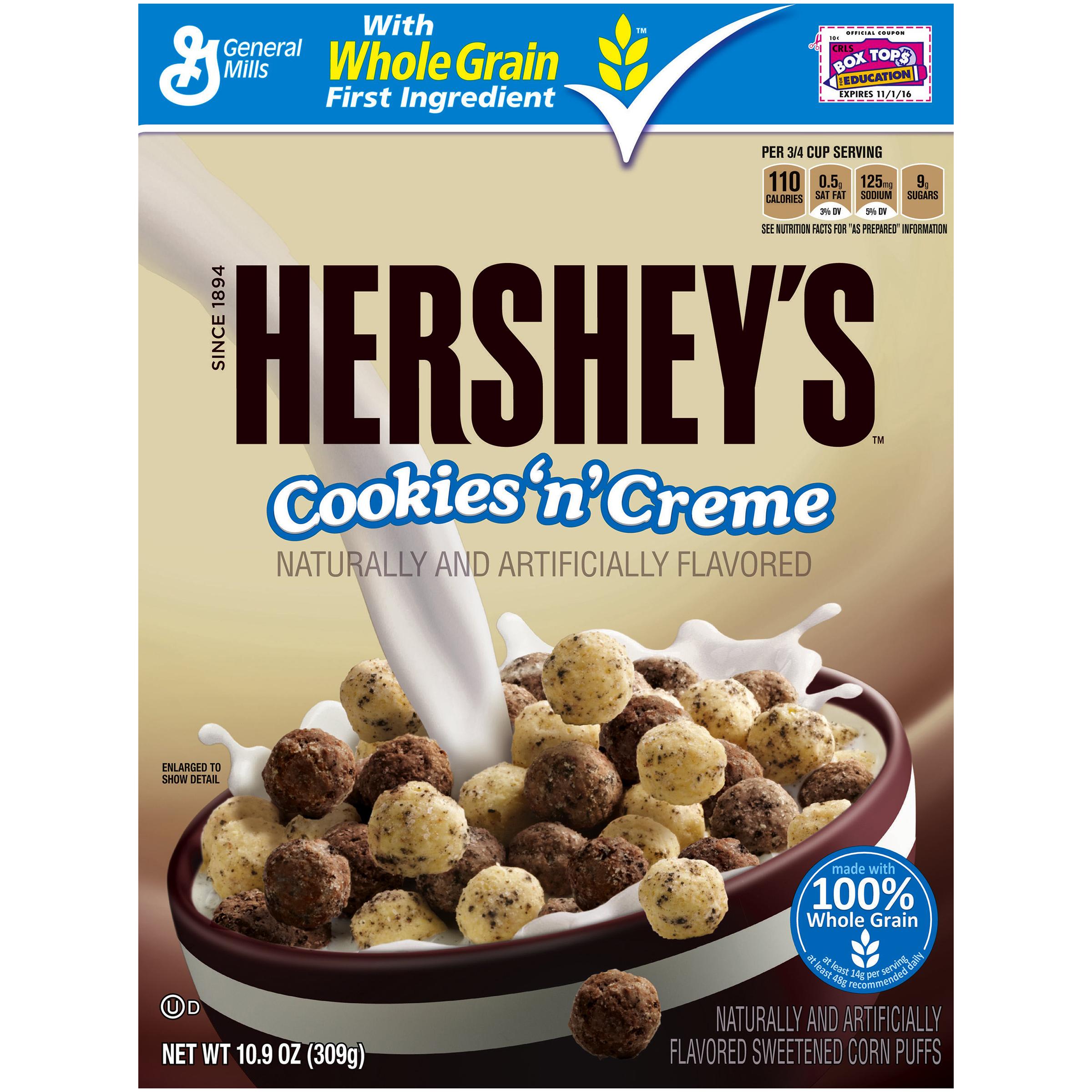 Cookies n creme Cereal!