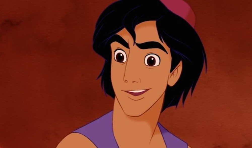 Why is Aladdin inspired by Tom Cruise?